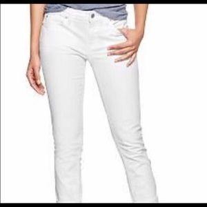 Sz 6/28 White Always Skinny jeans